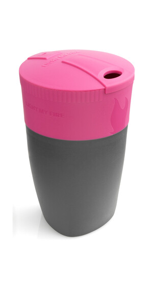 Light My Fire Pack-up-Cup Drinkfles grijs/roze